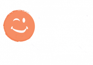 orange smiling face